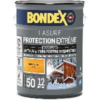 Peinture - Revetement Mur Sol Plafond Lasure pour bois protection extreme 12 ans chene doré 5L Bondex