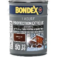 Peinture - Revetement Mur Sol Plafond Lasure pour bois protection extreme 12 ans chene fonçé 5L Bondex