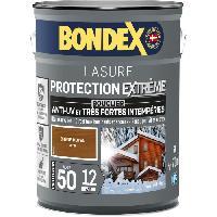 Peinture - Revetement Mur Sol Plafond Lasure pour bois protection extreme 12 ans chene moyen 5L Bondex