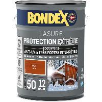Peinture - Revetement Mur Sol Plafond Lasure pour bois protection extreme 12 ans teck 5L Bondex