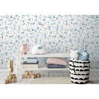 Peinture - Revetement Mur Sol Plafond MGC DECO Papier peint déco - 10x0.53 m - Beige Aucune