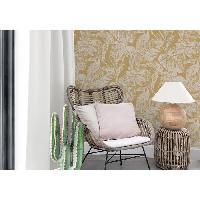 Peinture - Revetement Mur Sol Plafond MGC DECO Papier peint déco - 10x0.53 m - Jaune