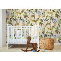 Peinture - Revetement Mur Sol Plafond MGC DECO Papier peint déco - 10x0.53 m - Vert Aucune