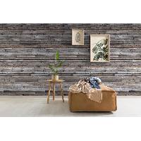 Peinture - Revetement Mur Sol Plafond MGC DECO Papier peint déco - 8.40x0.53 m - Gris Aucune