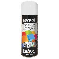 Peinture - Revetement Mur Sol Plafond NESPOLI Aerosol peinture professionnelle effet satine blanc neige 400mL