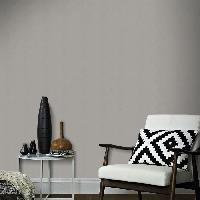 Peinture - Revetement Mur Sol Plafond Papier Peint Intissé Uni Anthracite 10 m x 52 cm  Easy Aucune