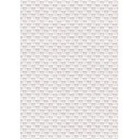 Peinture - Revetement Mur Sol Plafond Papier peint double largeur Tressage texturé blanc a peindre 104 cm x 10m vinyle intissé blanc - Aucune