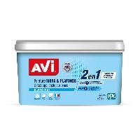 Peinture - Revetement Mur Sol Plafond Peinture murs et plafonds monocouche mat blanc 2.5L AVI