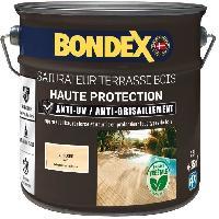 Peinture - Revetement Mur Sol Plafond Saturateur pour bois protection extreme terrasse et caillebotis incolore 2.5L Bondex
