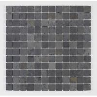 Peinture - Revetement Mur Sol Plafond U-TILE Mosaique en pierre naturelle 30 x 30 cm - carreau 2.5 x 2.5 cm - mixte pierre de lave - Aucune