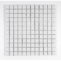 Peinture - Revetement Mur Sol Plafond U-TILE Mosaique en resine imitation pierre 30 x 30 cm - carreau 2.5 x 2.5 cm - blanc - Aucune