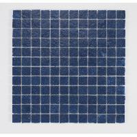 Peinture - Revetement Mur Sol Plafond U-TILE Mosaique en resine imitation pierre 30 x 30 cm - carreau 2.5 x 2.5 cm - bleu nuit - Aucune