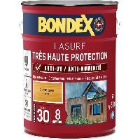 Peinture - Revetement Mur Sol Plafond lasure pour bois trés haute protection 8 ans chene clair 5L Bondex