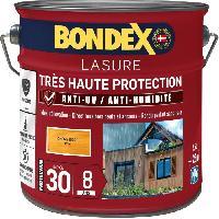 Peinture - Revetement Mur Sol Plafond lasure pour bois trés haute protection 8 ans chene doré 2.5L Bondex