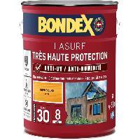 Peinture - Revetement Mur Sol Plafond lasure pour bois trés haute protection 8 ans chene doré 5L Bondex