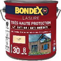 Peinture - Revetement Mur Sol Plafond lasure pour bois trés haute protection 8 ans incolore 2.5L Bondex