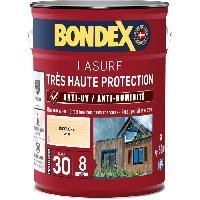 Peinture - Revetement Mur Sol Plafond lasure pour bois trés haute protection 8 ans incolore 5L Bondex