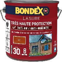 Peinture - Revetement Mur Sol Plafond lasure pour bois trés haute protection 8 ans teck 2.5L Bondex