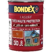 Peinture - Revetement Mur Sol Plafond lasure pour bois trés haute protection 8 ans teck 5L Bondex