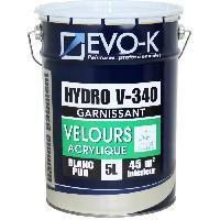 Peinture - Vernis - Traitement (lasure - Effets Decoratifs) Peinture monocouche murs et plafonds Hydro V340 5 L blanc velours