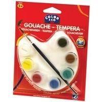 Peinture LEFRANC & BOURGEOIS Palette petit peintre - Gouache liquide - 7x4ml
