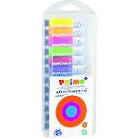 Peinture PRIMO 450T12FMP Tube de gouache spéciale 12 ml: 4 couleurs fluos et 8 couleurs métalliques.