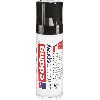 Peinture Spray acrylique - 200 ml - Noir profond