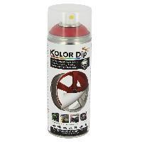 Peintures, Laques & Plastidip Bombe peinture Dip finition rouge metallique - Spray 400ml KolorDip