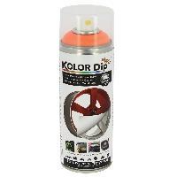 Peintures, Laques & Plastidip Bombe peinture finition orange fluo - Spray 400ml KolorDip