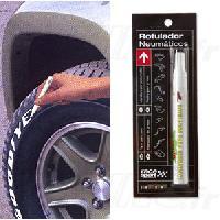 Peintures, Laques & Plastidip Stylo feutre compatible avec pneu - Blanc
