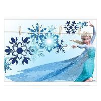Pele-mele Photo ELSA Reine des neiges Pele-mele deco 50x35 cm bleu