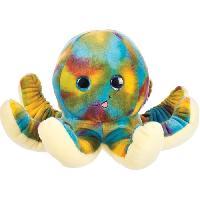 Peluche DECAR2 Peluche Octopus - Bleu - 30 cm