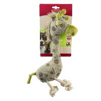 Peluche Girafe peluche - Carte brochable - Pour chien