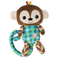 Peluche Jouet d'eveil Bananas the Tickle and Tumble Monkey