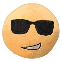 Peluche Peluche Smiley Cool D14cm - Pour chien