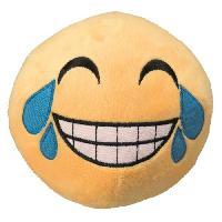 Peluche Peluche Smiley Rieur grande - D14cm - Pour chien