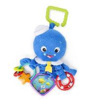 Peluche Poulpe Neptune interactif Activity Arms Octopus - Bleu