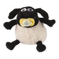 Peluche Timmy peluche Shaun le Mouton 15cm - Noir et blanc - Pour chien