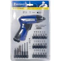 Perceuse - Perforateur - Visseuse - Devisseuse Visseuse sans fil + 25 accessoires - 3.6V 1300 mAh - Michelin