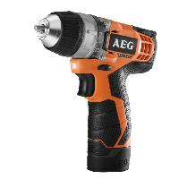 Perceuse AEG Perceuse-visseuse BS12C-152B - 12 V - 18 Nm - Avec 2 batteries 1.5 Ah Li-ION
