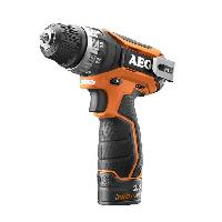 Perceuse AEG Perceuse-visseuse BS12C2-202C - 12 V - 32 Nm - Avec 2 batteries 2 Ah Li-ION