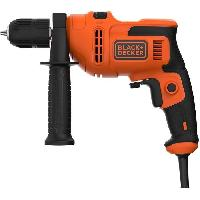 Perceuse BLACK et DECKER Perceuse a percussion - 500 Watts - BEH200-QS Black + Decker