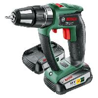 Perceuse BOSCH Perceuse-visseuse a percussion sans fil PSB Ergo 18 LI-2 avec 2 batteries