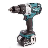 Perceuse MAKITA Perceuse-visseuse a percussion Brushless DHP481RTJ - 115 Nm - Avec 2 batteries 18 V et coffret Makpac