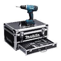 Perceuse MAKITA Perceuse visseuse DF347DWEX3 - 2 batteries 14.4 V 1.3 Ah Li-ion - 70 accessoires - Mallette