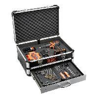 Perceuse Perceuse a percussion 18 V avec 2 batteries et 80 accessoires en coffret