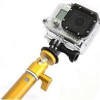 Perche - Stick - Canne Selfie Perche Telescopique pour GoPro Big U-Shot - 94 cm - Dore