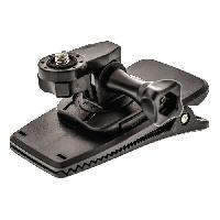Perche - Support - Fixation CL-ACMK100 Kit de fixation pour Action Camera Rapide-Clip 360 degres
