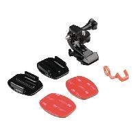 Perche - Support - Fixation CL-ACMK10 Kit de fixation pour Action Camera Casque