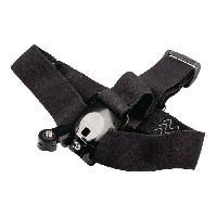 Perche - Support - Fixation CL-ACMK40 Kit de fixation pour Action Camera Head Strap